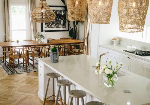 kitchen with shaker doors