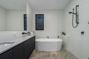 black bathroom cabinets brisbane