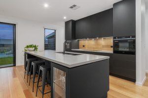 black kitchen renovations
