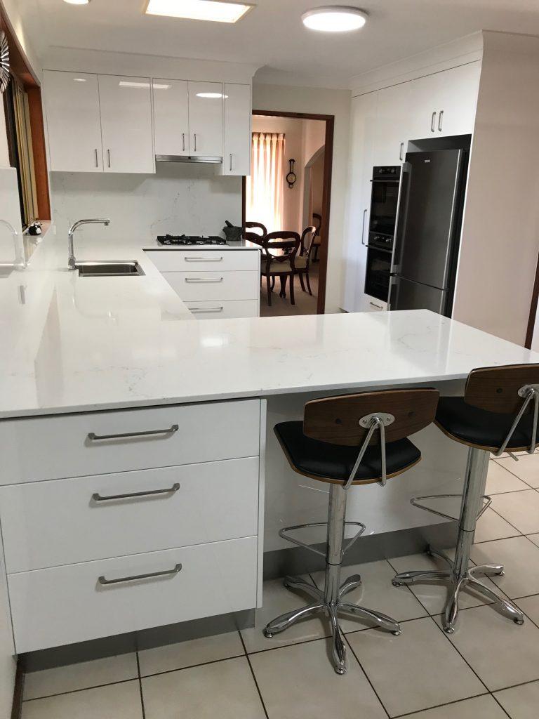 kitchen renovation white kitchen