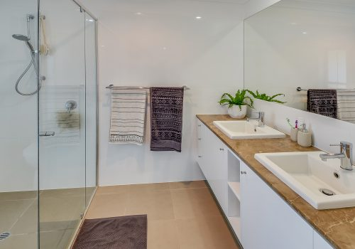 Kitchen and bathrooms for new builds